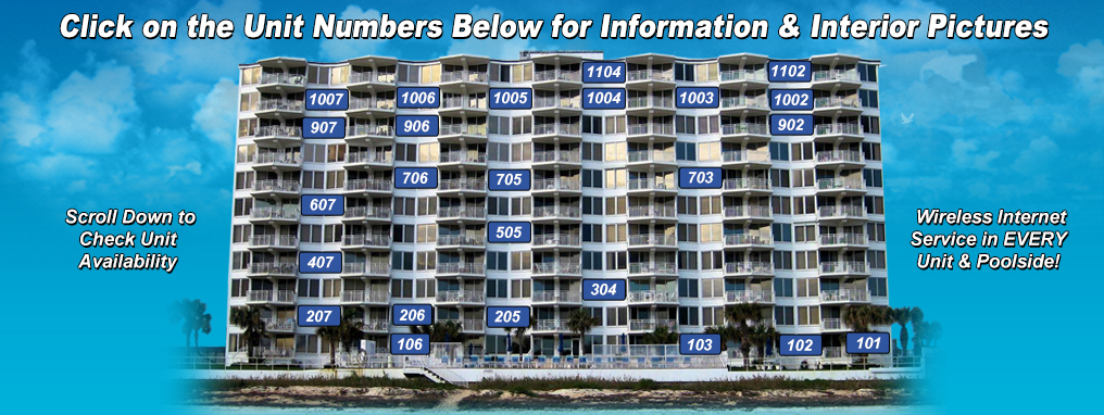 Search all of Our available Rental Units in 1 place. Click on the Unit numbers above for more detail.